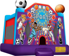 Sport Arena USA Bounce House
